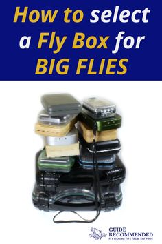 Fly Fishing with big flies needs a big fly box.  Just because you're fly fishing doesn't mean every presentation you make needs to be delicate or subtle. Sometimes you have to chuck big, nasty streamers to target and catch the largest fish in the river.