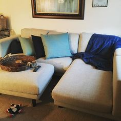 Our new couch! #ikea #pittsburgh #412 #nockeby