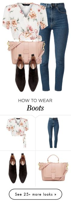 """Untitled #5544"" by laurenmboot on Polyvore featuring Yves Saint Laurent, New Look and H&M"
