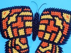 3d Origami Butterfly tutorial : https://youtu.be/ajXecr7vkec Model created by Campean Petru Razvan