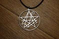 Devil Lucifer Satin Pewter Emblem Logo Symbols Key Ring Chain Metal