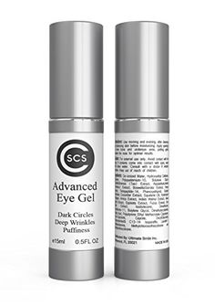CSCS Advanced Eye Gel - BEST AND MOST EFFECTIVE eye cream for dark circles, puffiness, wrinkles and bags CSCS http://www.amazon.com/dp/B00XNT12T8/ref=cm_sw_r_pi_dp_IdhIwb10SBW0F