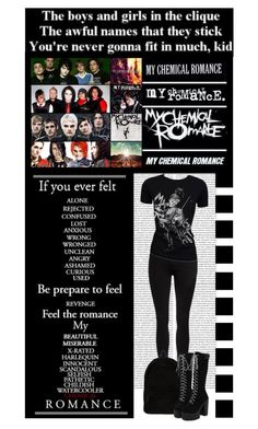 """""""My Chemical Romance (MCR) Gerard way"""" by irresistible-livingdeadgirl ❤ liked on Polyvore featuring Dr. Denim, Retrò, Ann Demeulemeester, mcr, anndemeulemeester, mychemicalromance, mychem, mcrarmy, black and emo"""