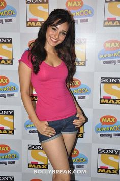 Neha Sharma In Denim Shorts - 2012 Pics