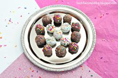 Skinny Peanut Butter Truffles « Back for Seconds