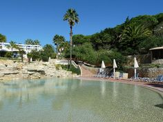 The children's pool and spa at Golf Santo Antonio, near Budens and Salema.