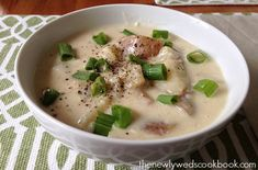 Crock Pot Potato Soup - The Newlyweds Cookbook