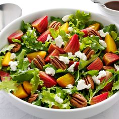 The tasty, healthy beet finally gets a salad dressing it deserves, thanks to Fisher® Pecan Halves. Don't let the sound of making your own dressing scare you- it's easier and tastier than you think!