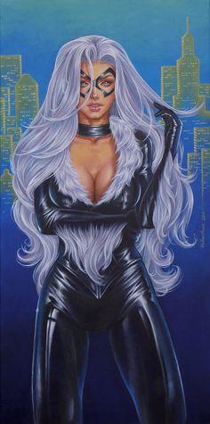 Black Cat by Conny Valentina