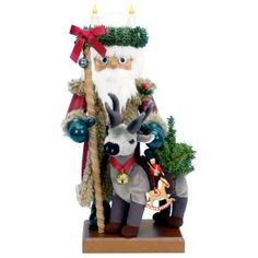 Ulbricht 2008 Limited Edition Santa and Reindeer Nutcracker