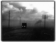 """Storms Rage in """"Dust Bowl"""" Great Depression, Vintage Photographs, Vintage Photos, State Of Kansas, Dust Bowl, Land Of Oz, Hard Times, Cityscapes"""