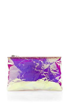Shop Pink Small Glossy Purse by Zilla Now Available on Moda Operandi