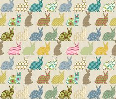 New favorite website: Design your own fabric and they'll print it for you. There are tons of cute designs for sale, too.