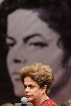 Dilma Roussef, mulher de coragem, integridade e honestidade sem par, vítima de um golpe jurídico-midiático e parlamentar de direita.