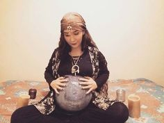 Gypsy and Crystal Ball for Halloween Costumes for Pregnant Women