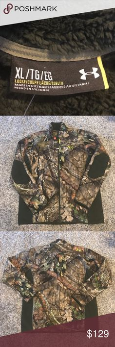 Under Armour NWT Men's Camo Hunting Jacket Water resistant! New with Tags! Will be super warm this winter! Reasonable offers accepted! Bundle for a private discount! Under Armour Jackets & Coats Military & Field