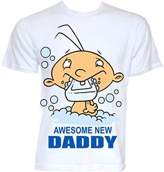 Beat Tees Clothing Mens Novelty Awesome New Daddy Graphic Dad T-shirt Funny Cool Baby Shower Gift Pesent Ideas By Beat Tees Clothing http://www.amazon.co.uk/dp/B00T6USUMA/ref=cm_sw_r_pi_dp_9a7Ywb173WHY9