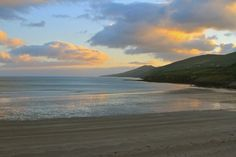 Inch Beach, Dingle Peninsula, Co Kerry Ireland.