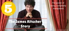 Learn how James has built a tremendous loyal following by being 100% transparent. James Altucher, Episode 5, Learning, Movie Posters, Studying, Film Poster, Teaching, Billboard, Film Posters
