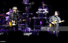 Daryl Hall (L) and John Oates perform at BOK Center on May 4, 2017 in Tulsa, Oklahoma.