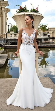 Dresses Elegant, Stunning Wedding Dresses, Dream Wedding Dresses, Beautiful Gowns, Bridal Dresses, Wedding Gowns, Bridesmaid Dresses, Modest Wedding, Wedding Veil