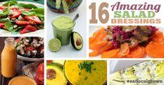 16 Homemade Salad Dressings