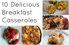 10 Breakfast Casseroles via thegrantlife