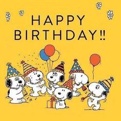 "Picture 🎀 · ☆ · 𝔤𝔢𝔣𝔲𝔫𝔡𝔢𝔫 𝔞𝔲𝔣 · ☆ · 𝔇 ""... #birthday 🎂 Happy Birthday Snoopy Images, Funny Happy Birthday Messages, Happy Birthday Quotes, Happy Birthday Greetings, Birthday Fun, Happy Bird Day, Snoopy Quotes, Quotes Quotes, Birthday Wallpaper"
