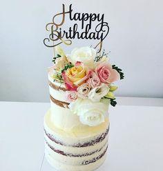 38 Best Happy Birthday Cake Topper Images Happy Birthday Cake