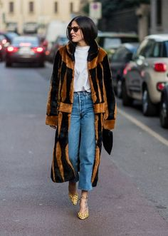 The Best Street Style Looks From Milan Fashion Week Fall 2017 | StyleCaster