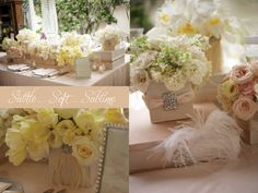 Exquisite #Pink and #White Wedding