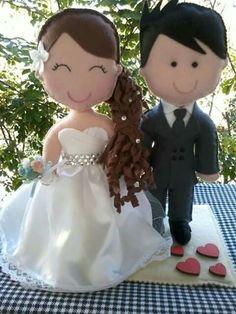 Muñecas pareja novios