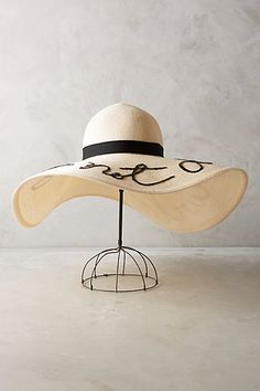 THE PERFECT HAT---Do Not Disturb Hat #anthropologie