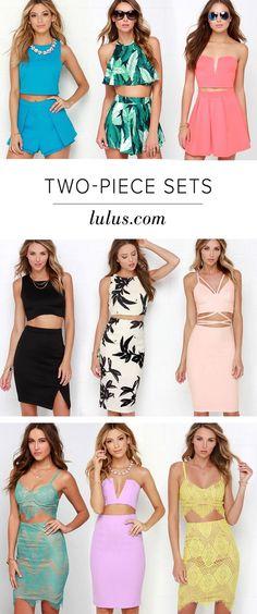 Two piece sets on Lulu