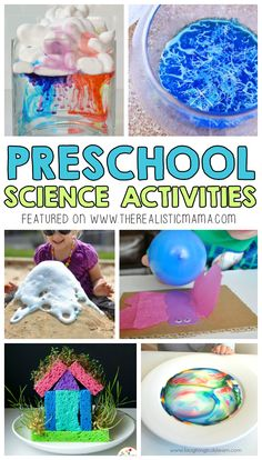 10 Easy Science Projects for Preschoolers: How fun! We tried one today and it was a huge hit - now to do the other 9!!