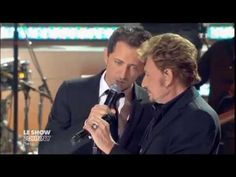 """Johnny Hallyday et Gad Elmaleh """"Toute la musique que j'aime"""" 2011"""