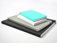 Ogami stone paper notebooks in modern colors and smooth hard cover. With blank or ruled pages. The smooth stone surface makes writing on it a unique experience. Modern Colors, Tiffany Blue, Notebooks, Stationary, Stone, Luxury, Class Class, Medium, How To Make