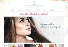 Hair Artist Website Design >> Wordpress web design for hair professionals.