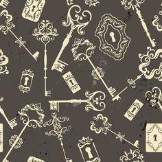 Papel de Parede Vintage - Retro 1742