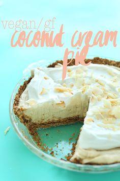Coconut Cream Pie (Vegan + GF)
