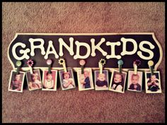Woo! Another pinterest craft done! :) Christmas Present for Grandma :)