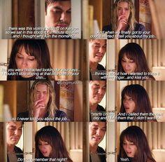 Pretty Little Liars Season 7 such a sad awkward moment