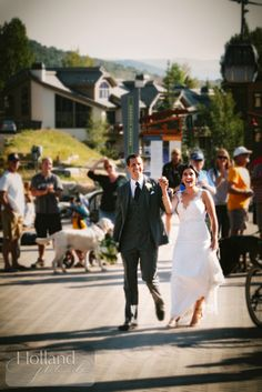 Lindsey and Rob's Mountain Wedding at Steamboat Springs, Colorado