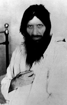 Grigori Rasputin, was a Russian peasant, mystic and private adviser to the Romanovs