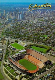 Edmonton - Commonwealth Stadium The Good Old Days, The Good Place, Football Pictures, Football Stadiums, The Province, My Town, Alberta Canada, Commonwealth, Back In The Day