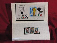Francobolli mondiali di calcio usa 94