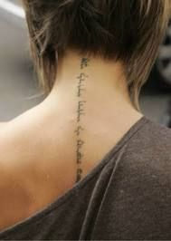 on spine tattoo, but I want it tracing my scoliosis. With a verse about how God has made me in His image. I'll make my weakest point, my strongest!