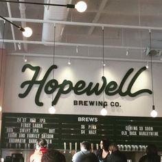 Welcome to the neighborhood @hopewellbrewing! #brewery #chicagobrewery #chicagobeer #craftbeer #logansquare #beer #hopewell
