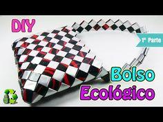 187. Manualidades: Marcos para fotos con bolsas de papitas (Reciclaje) Ecobrisa - YouTube