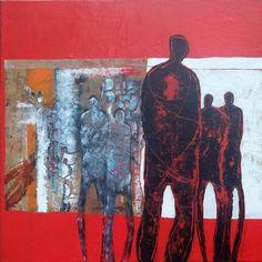 Marjolijn van Ginkel: Follow me - 70/70 cm